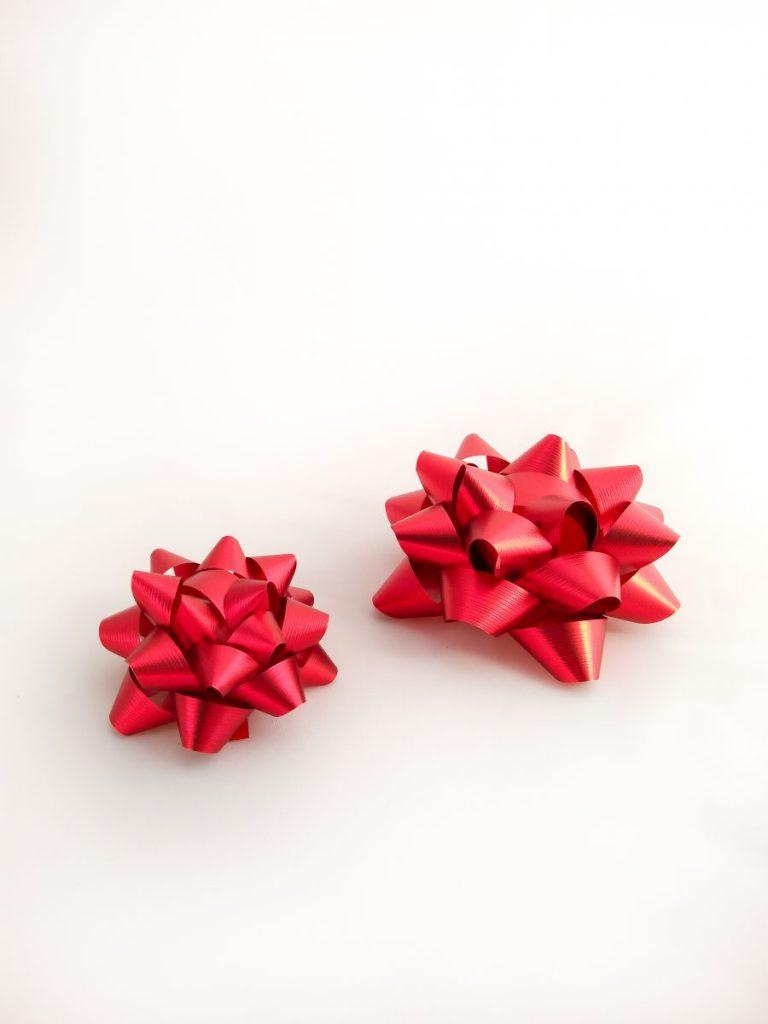 Gwiazdki czerwone z teksturą