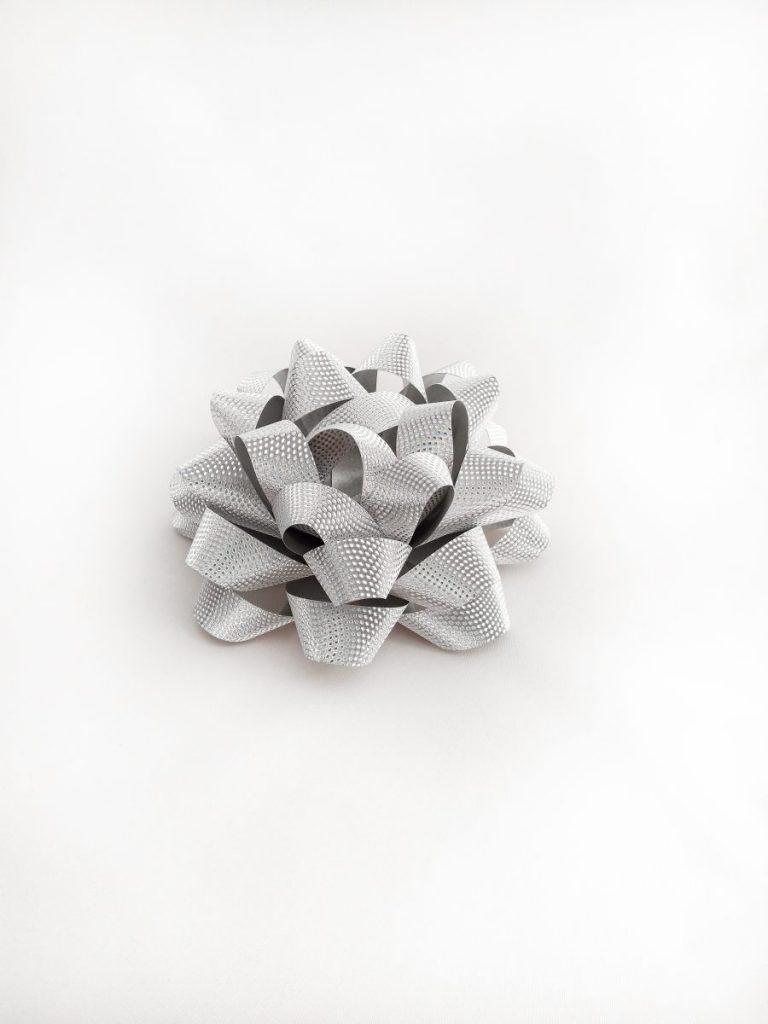 Gwiazdki srebrne z teksturą