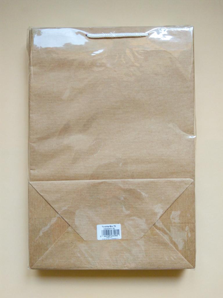 Torebka papierowa eko t5